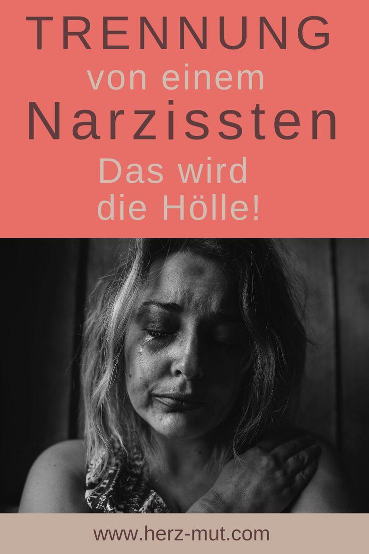 Trennung von einem Narzissten: Das wird die Hölle