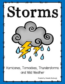 Storms - Hurricanes, Tornadoes, Thunderstorms, and Wild Weather! Students learn all about wild weather in this product.Included in this product:What is a Storm?The Beaufort Wind Force ScaleThe Beaufort Wind Force Scale - Comprehension Questions & Answer KeyHurricanes & The Saffir-Simpson Hurricane Wind ScaleHurricanes - Cut & Paste ComprehensionHow Strong is that Hurricane?