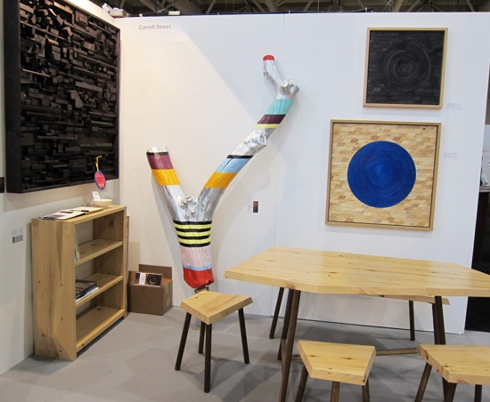 Studio North at IDS in Toronto via Poppytalk-- check out the one piece, so reminiscent of Suzanne Tidwell's work!