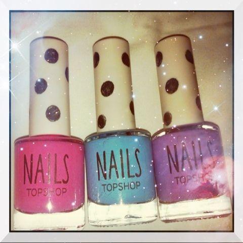 Mitt liv som Toril :o): Topshop nail candy