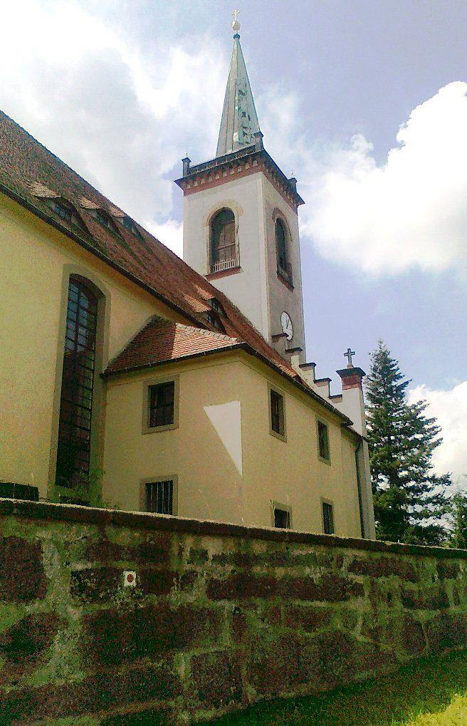 Kostel v Kottmarsdorfu - Německo