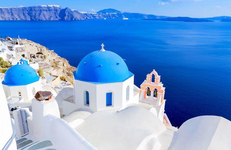 Santorini, un colpo d'occhio che non si dimentica