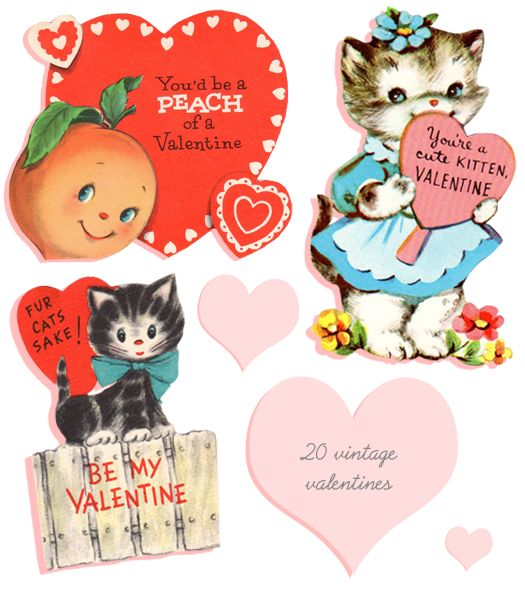 76 best My Vintage Valentine images – Vintage Valentine Cards to Print