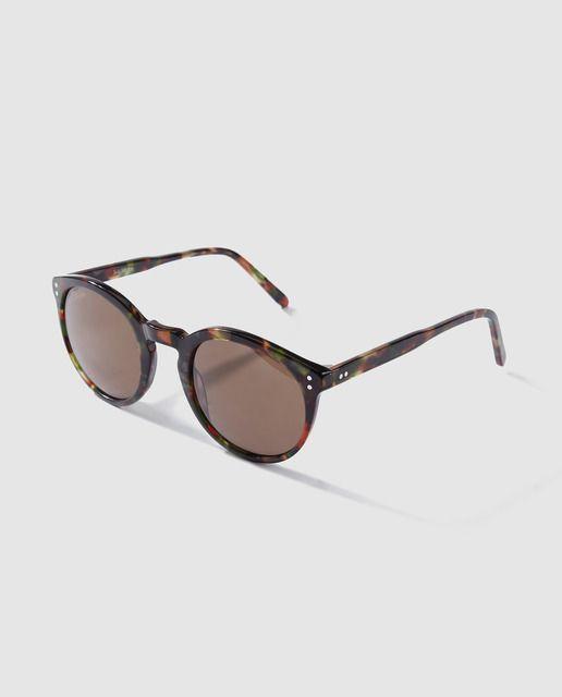 cf6d90b3 Gafas de sol unisex Jo & Mr. Joe pantos de acetato multicolor en ...