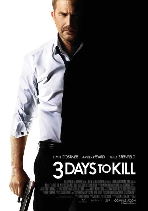 3 Days to Kill 11x17 Movie Poster (2014)