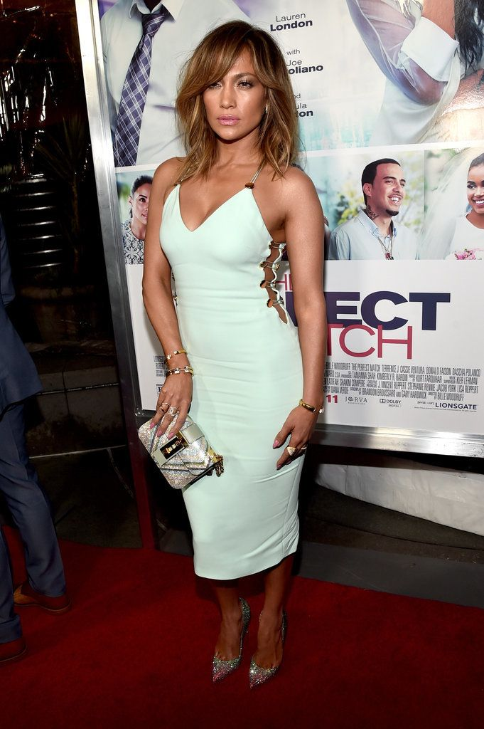Jennifer Lopez's Cute Cut and Color