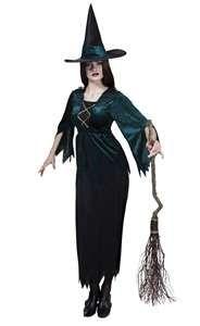 Who's the wicked witch?Hoed en jurk.Maat 40/42.