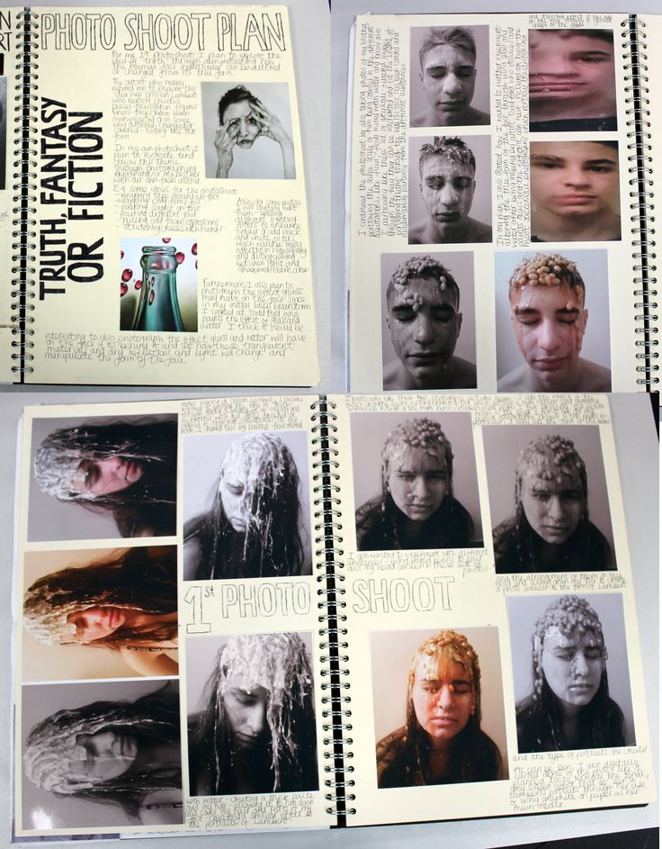 AL A2 Fine Art, A3 Cream Sketchbook, Photoshoot Plan and photo shoot, ESA Theme 'Truth Fantasy or Fiction', Thomas Rotherham College, 2016