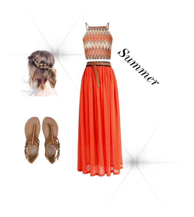 """""""Summer #nice #dressup"""" by thea-graf-halgrimsen on Polyvore"""