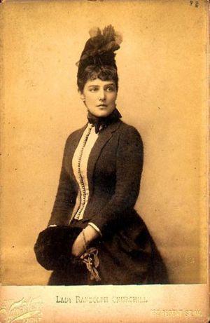 Jennie Churchill nee Jerome | by Belle Epoque 1900s.... a Mary Beth Mayfair look-alike....