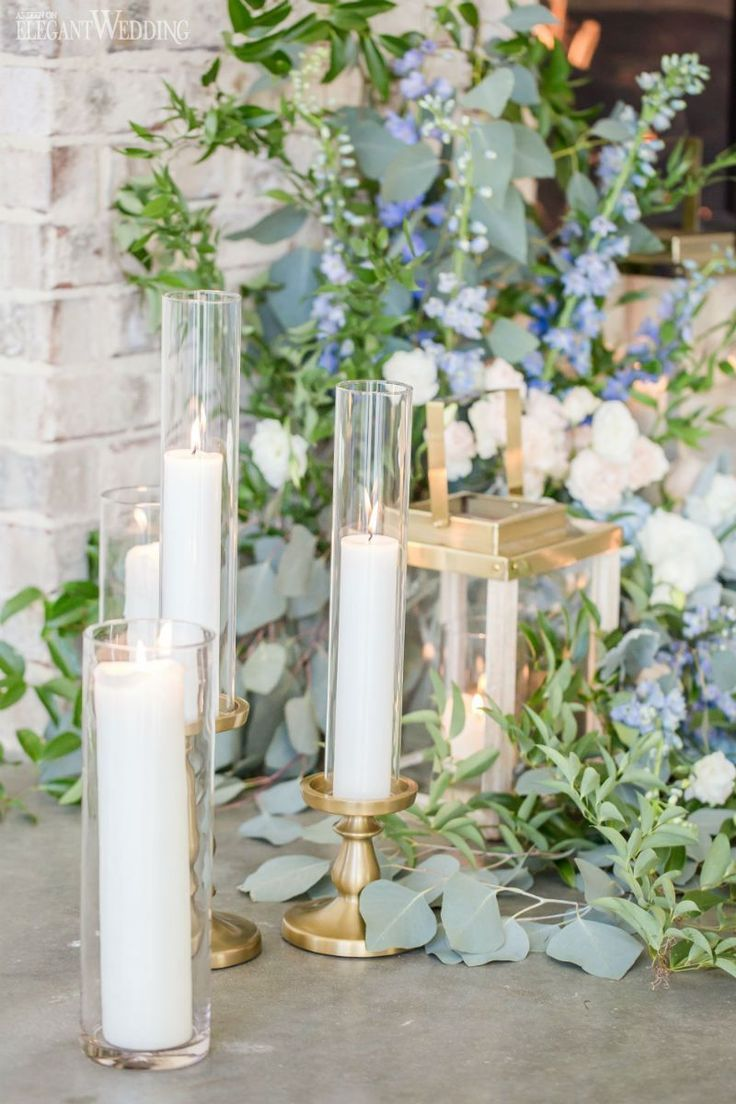 Hello kitty wedding decorations january 2019  best Dusty Blue Wedding images on Pinterest  Dusty blue weddings