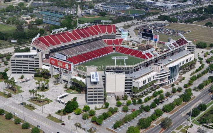Raymond James Stadium Seating Charts View - We have Tickets to all Bucs and Bulls Games