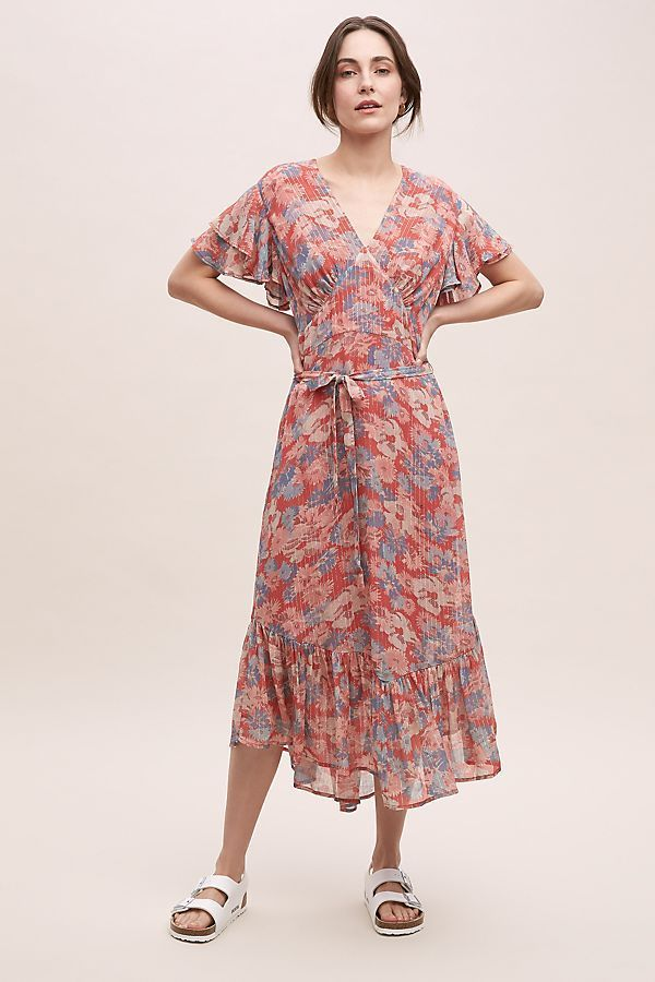 Anthropologie X Lily And Lionel Drew Floral Dress In 2020 Floral Dress Dresses Dresses Uk