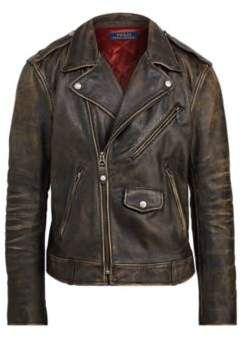 Ralph Lauren The Iconic Motorcycle Jacket Black Coal S