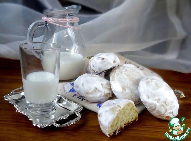 Пряники творожно-мятные ингредиенты