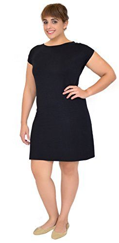 Stretch is Comfort Women's PLUS SIZE Short Sleeve Boatnec... http://www.amazon.com/dp/B01AKW8TN2/ref=cm_sw_r_pi_dp_5-2gxb1FVANHH