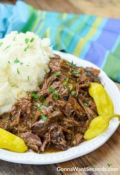 "Mississippi Pot Roast is a new classic – a simple but hearty, homey dish packed with flavor and the promise of a satisfying supper. Your crock pot does all the work, and you get all the credit!  The slow cooker was introduced in the early 1970s (Rival's ""Crock Pot"" being the first one on the …"