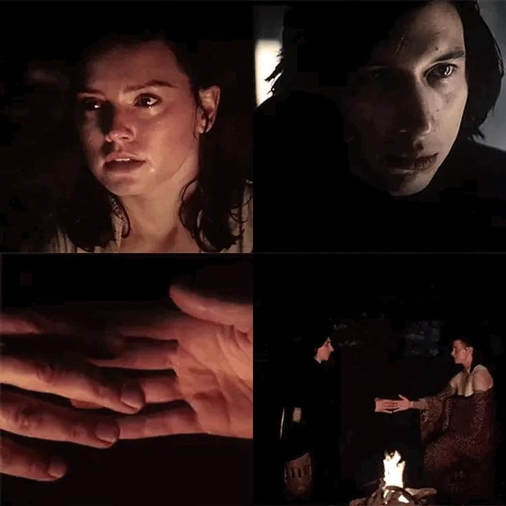 Aww yeah , reylo , I knew they would end up together .