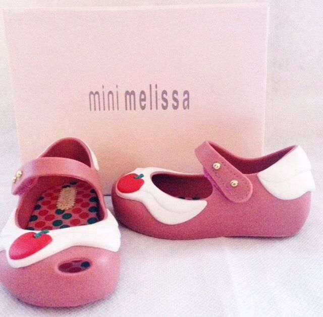 Authentic Mini Mellisa Shoes for Toddler Uk:4.5/Eu:21 Brand New
