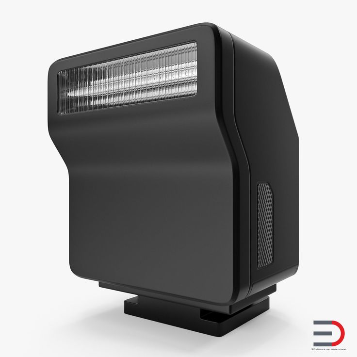 Compact Speedlight 3D model