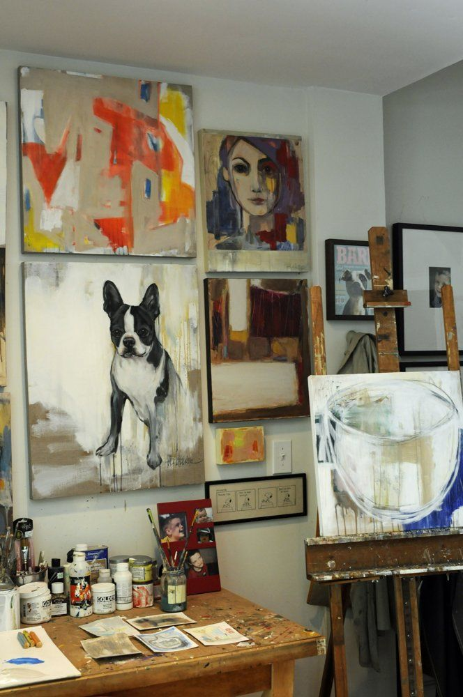 1356 best inside an artist's studio images on pinterest | artist