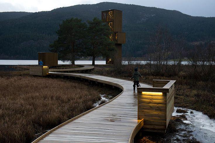 03 Lake-serpent-watchtower « Landscape Architecture Works   Landezine