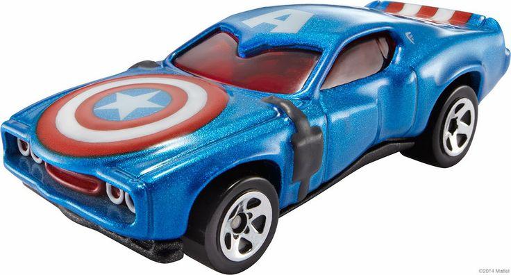 Where To Buy Captain America Hot Wheels Car