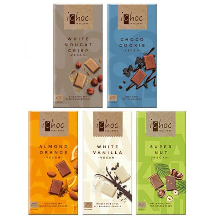 iChoc Vegan Milk Chocolate Collection