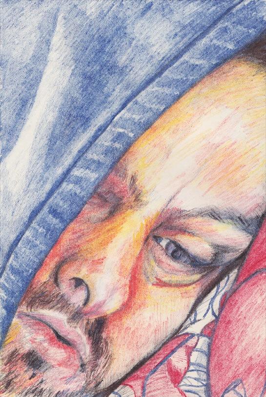 New Pencil Portraits by Sarah Whittle, via Behance