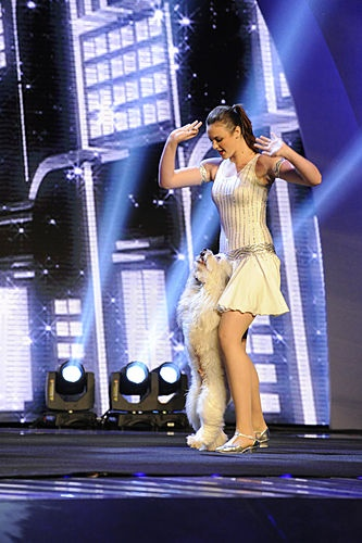 Ashleigh and Pudsey / America's Got Talent / #AGT