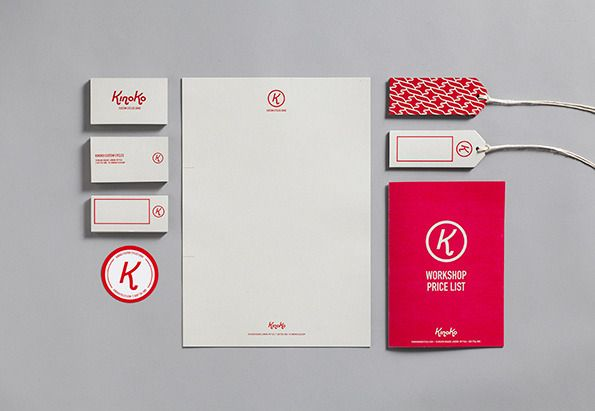 Kinoko brand identity design by HarrimanSteel