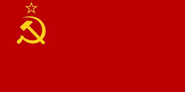 Fourth Soviet flag: 1:2 ratio(December 5, 1936 – August 19, 1955)