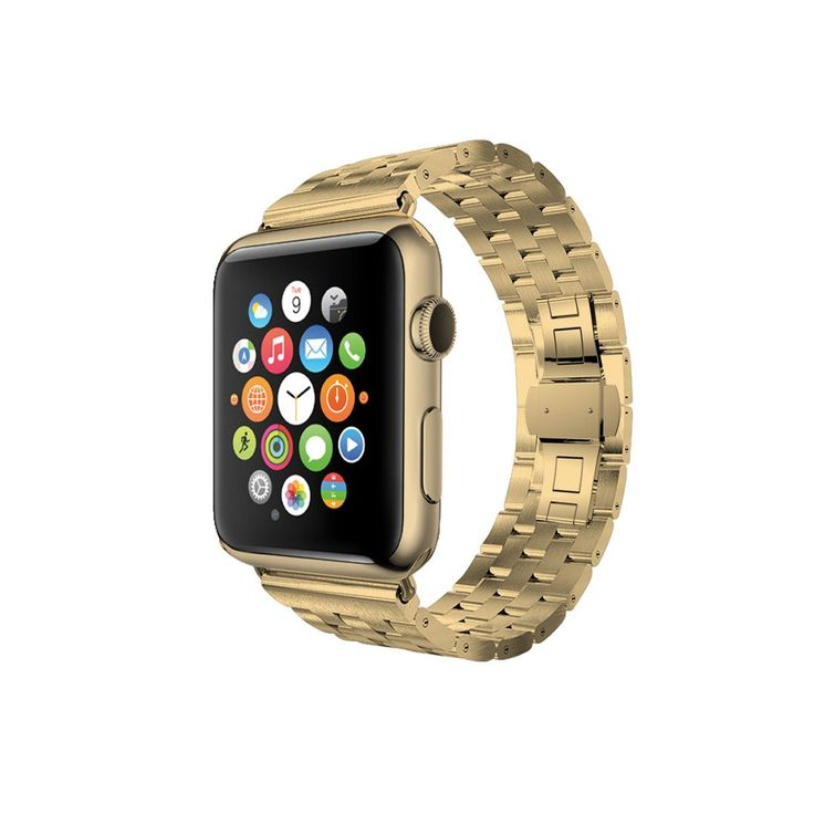 Stainless Steel Buckle Strap Band Bracelet compatible for Apple Watch / Apple Watch Sport ( 38 mm , 42 mm ) Crafted from the high quality stainless steel alloy, each links are designed carefully to en