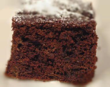 Torta Di Barbabietola E Cacao