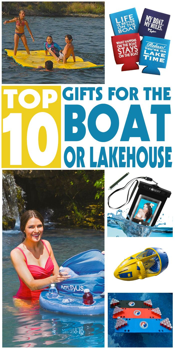 From The Great Lake's waters, we bring you great gift ideas for the yachtsman, boater or lakehouse owner.