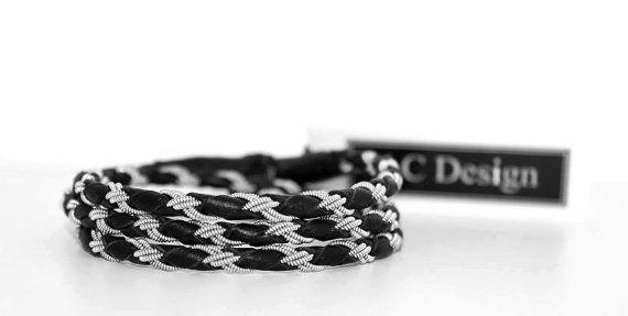 Leather wrap bracelet sami bracelet bracelet by ACDesignJewellery