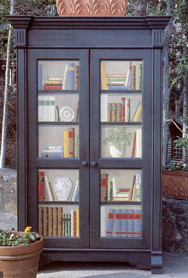 Library Painted Armoire