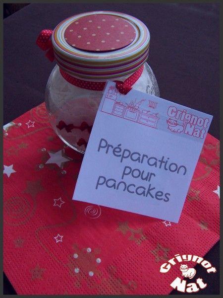 Cadeaux gourmands : Préparation pour pancakes  (Gourmet Gifts: Pancakes mix)