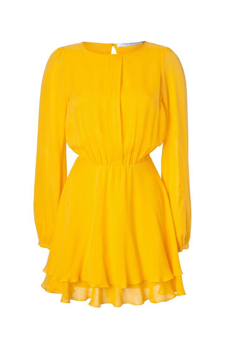 silk mini dress with front detail #dimitri #bydimitri #dimitrifashion