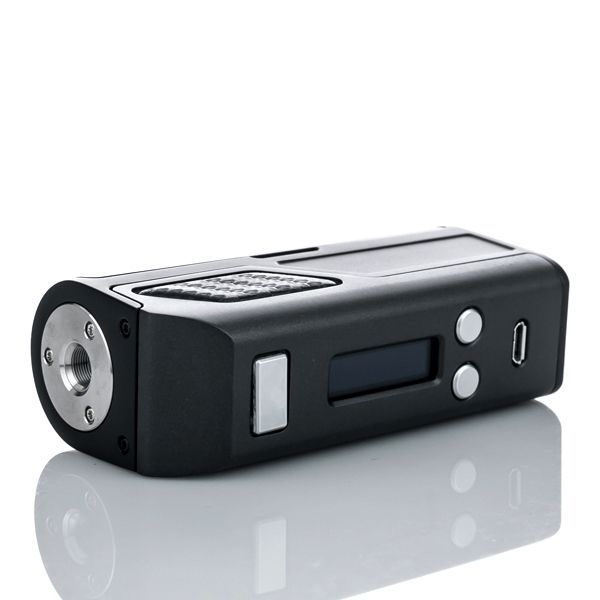 The Lost Vape Skar DNA 75 Box Mod features both 26650 and 18650 battery compatibility.Featuring a precise and customizable output, with a standard output range of 1 to 75W,The Lost Vape Skar DNA 75 Box Mod is known for its high level design,you can get the leather in three alternate colors: Black and Wood,SS and CF, Black and CF,SS and Wood ,You will get a comfortable feel when holding it in your hand.