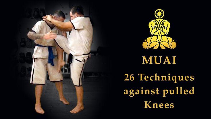MUAI - 16 Techniques against pulled Knees (The original Muay Boran) --> youtu.be/J7HYt1pwWjc   Pahuyuth - The origin of Thai fighting   Traditional fighting knowledge  Êancient martial arts   Thai martial arts   self-defense   School in Berlin Germany