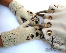 Варежки, перчатки, митенки. Идеи для вдохновения. вт, 29/10/2013 - 09:29