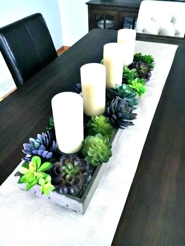10 Centerpieces For Family Reunion Table Ideas Simphome Dining Room Table Centerpieces Simple Dining Table Dining Table Centerpiece
