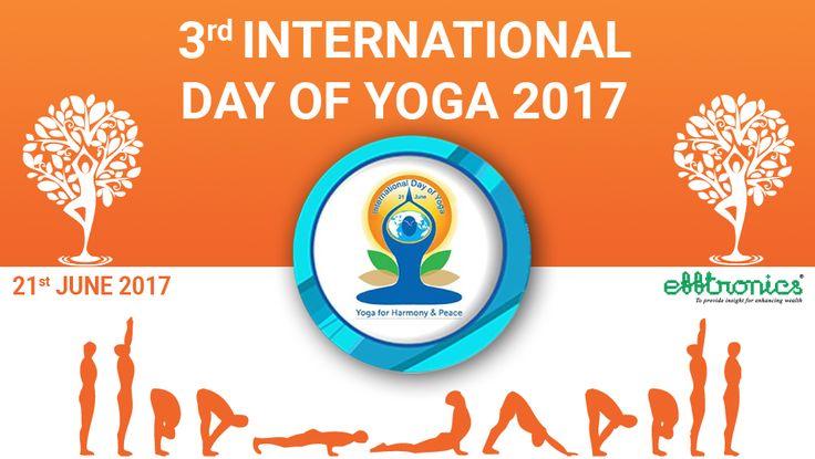 Efftronics Wishing all Happy Yoga Day