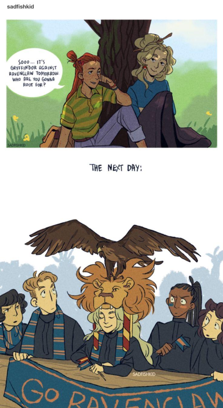 Ginny and Luna