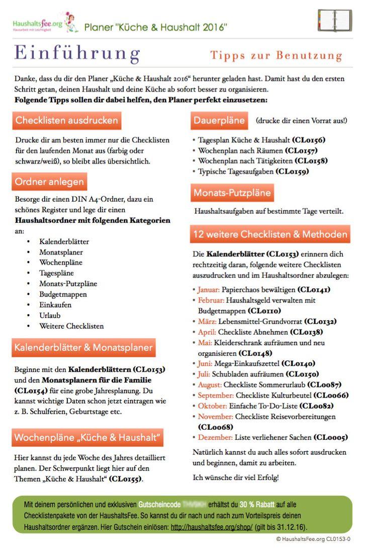 die 25+ besten checklisten vorlage ideen auf pinterest, Gartengerate ideen