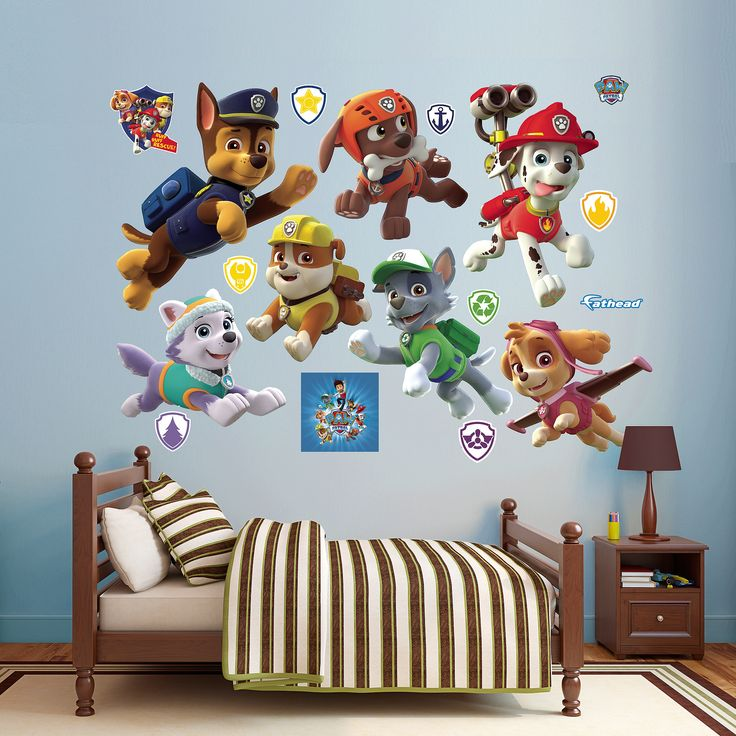 Fathead Paw Patrol Collection Wall Decals