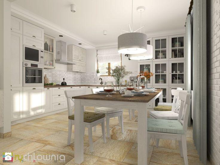 """w ciepłej kolorystyce - kuchnia - zdjęcie od Studio Architektury Wnętrz """"rychtownia"""""""