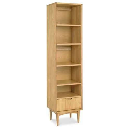 VeeCee Narrow Bookcase - Scandinavian Furniture - Oak