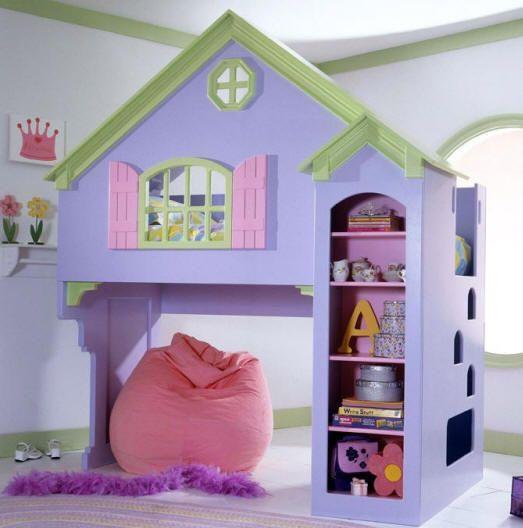 Best Playhouse Loft Bed Decorating Ideas Pinterest 400 x 300